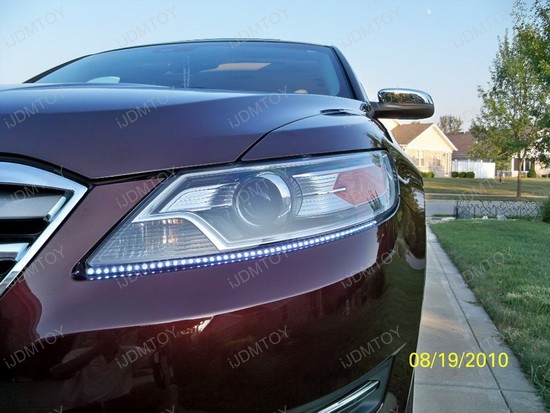 Ford - Taurus - Audi - style - LED - strip - lights - 3